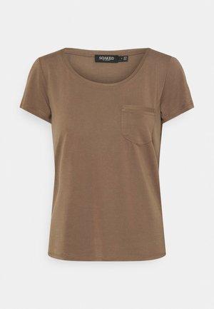 COLUMBINE TEE - Basic T-shirt - chocolate chip