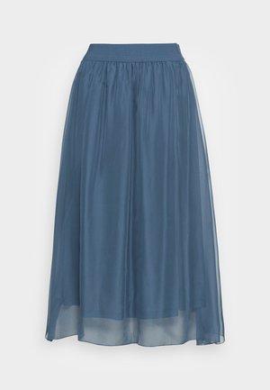 CORAL SKIRT - A-linjainen hame - china blue