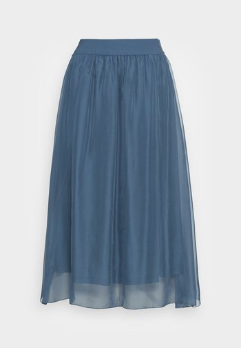 CORAL SKIRT - A-line skirt - china blue