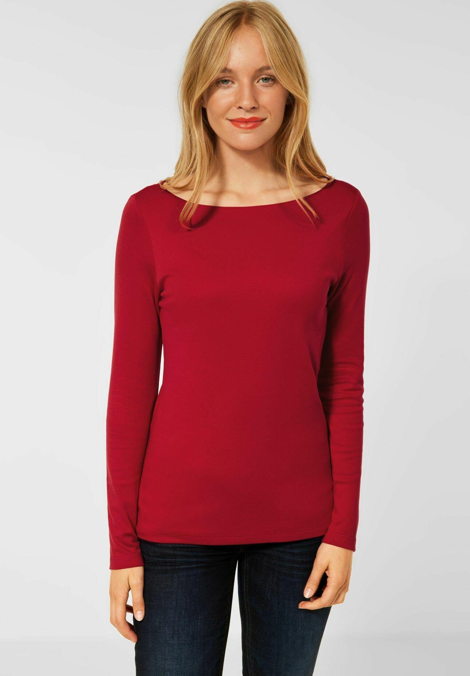 Damen IN UNIFARBE - Langarmshirt