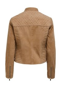 ONLY - Leather jacket - cognac - 5