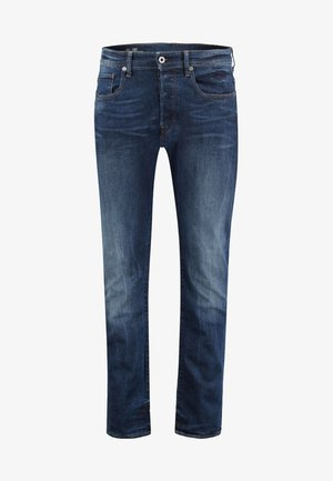 3301  NEUTRO STRETCH - Jeans Tapered Fit - darkblue