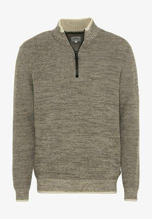 TROYER  - Trui - cloudy grey