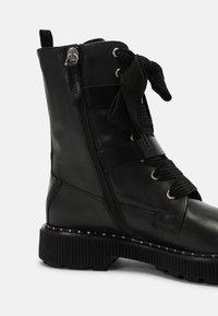 MAX&Co. - MARINAIO - Cowboy/biker ankle boot - black - 7