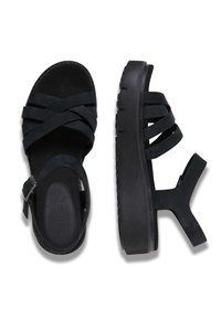 Timberland - SAFARI DAWN - Platform sandals - jet black - 1