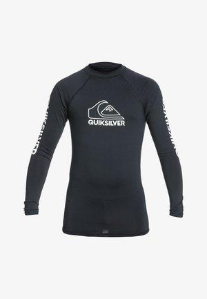 MIT UPF  FÜR JUNG - Rash vest - black