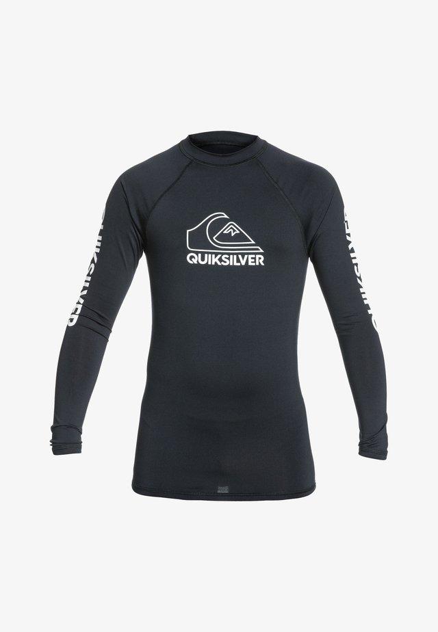 MIT UPF  FÜR JUNG - Surfshirt - black