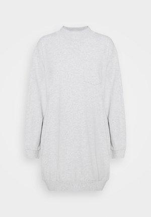 DRESS - Jersey dress - light heather grey