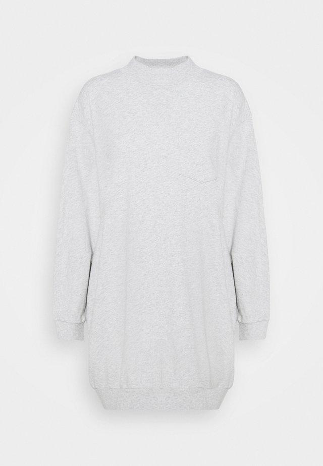 DRESS - Vestito di maglina - light heather grey