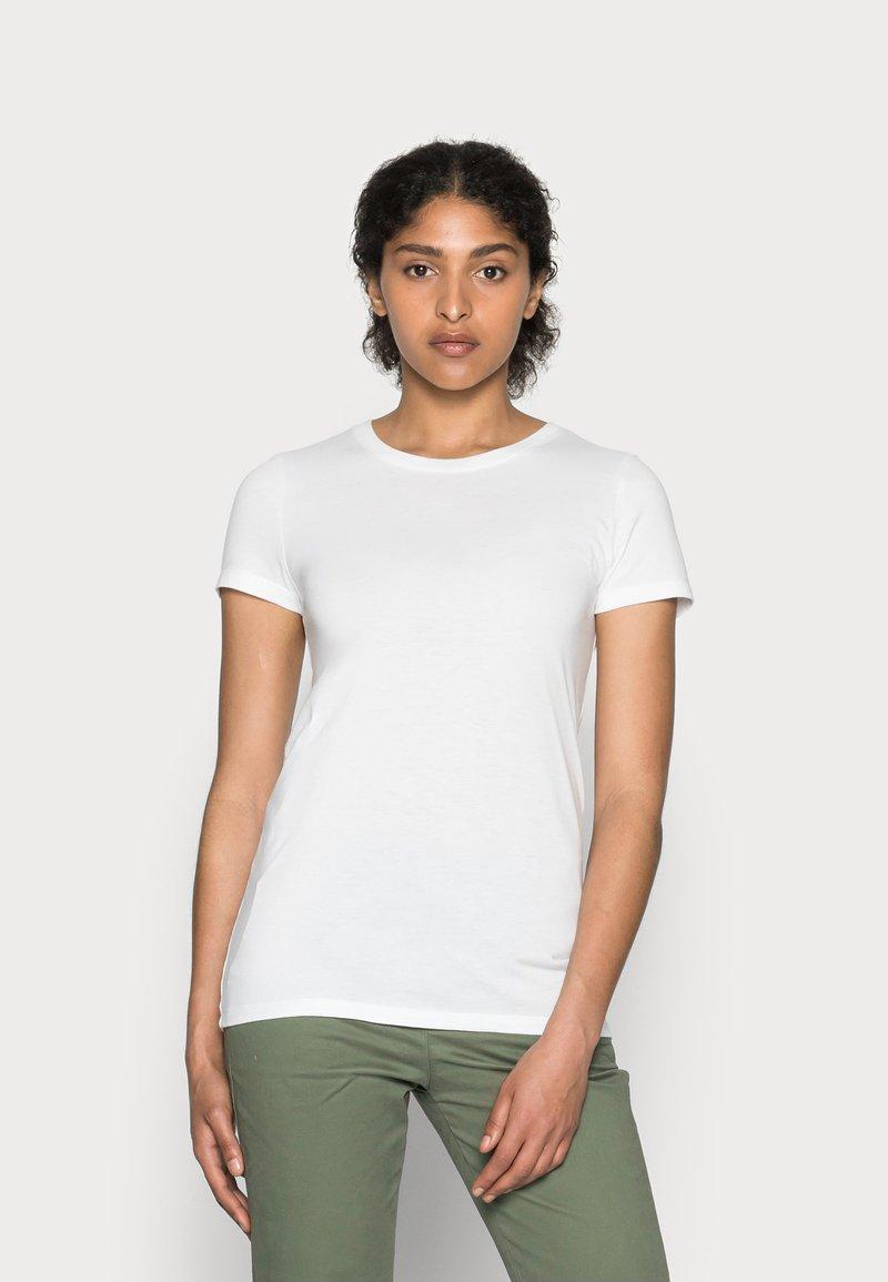 GAP - CREW - Basic T-shirt - white