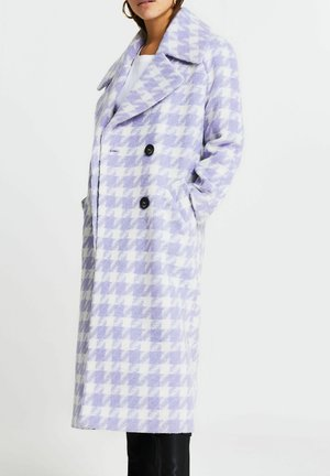 DOGTOOTH - Classic coat - purple