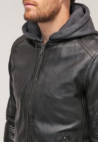 Oakwood - JIMMY - Leather jacket - noir - 3