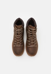 Lumberjack - RIVER - Lace-up ankle boots - cotto/dark brown - 3