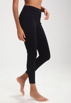 ANKLE JEAN-ISH - Leggings - Stockings - very black