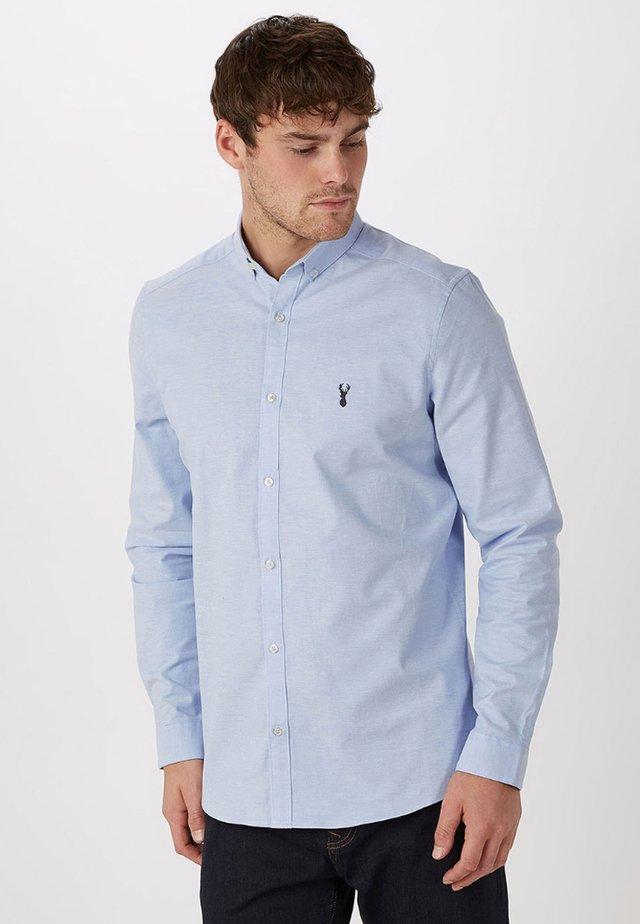 LONG SLEEVE STRETCH OXFORD - Koszula - blue