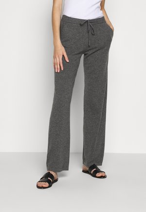 ESSENTIALS WIDE LEG PANT - Bukse - grey
