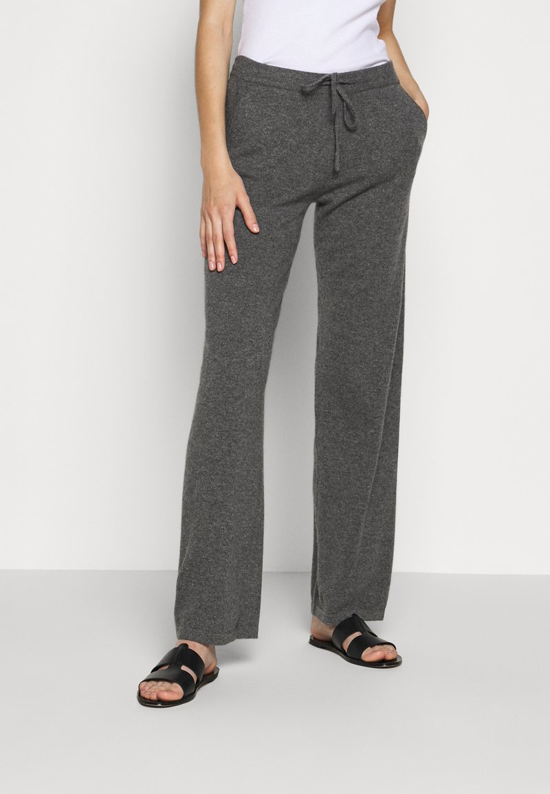 CHINTI & PARKER - ESSENTIALS WIDE LEG PANT - Broek - grey