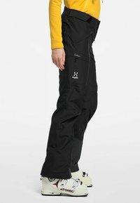 Haglöfs - LUMI FORM PANT - Snow pants - true black - 2