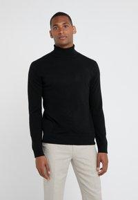 pure cashmere - TURTLENECK  - Pullover - black - 0