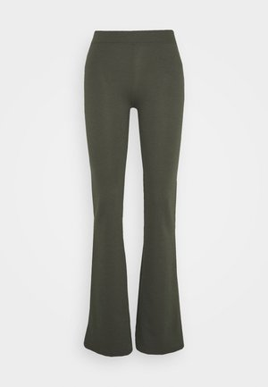 ONLFEVER STRETCH FLAIRED PANTS - Kalhoty - forest night