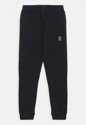 TROUSERS ESSENTIAL KNEE UNISEX - Tracksuit bottoms - dark navy
