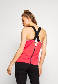 The North Face - WOMENS NORTH DOME TANK - Top - cayenne red/black - 2