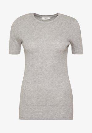 MONA TEE - Basic T-shirt - light grey