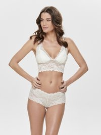 ONLY - Bustier - off-white - 1