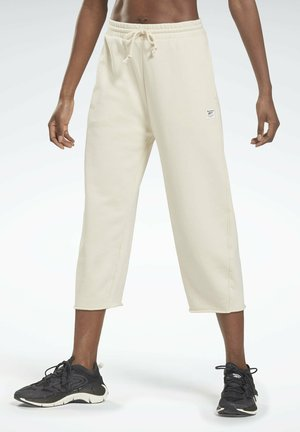 LES MILLS - 3/4 sports trousers - white