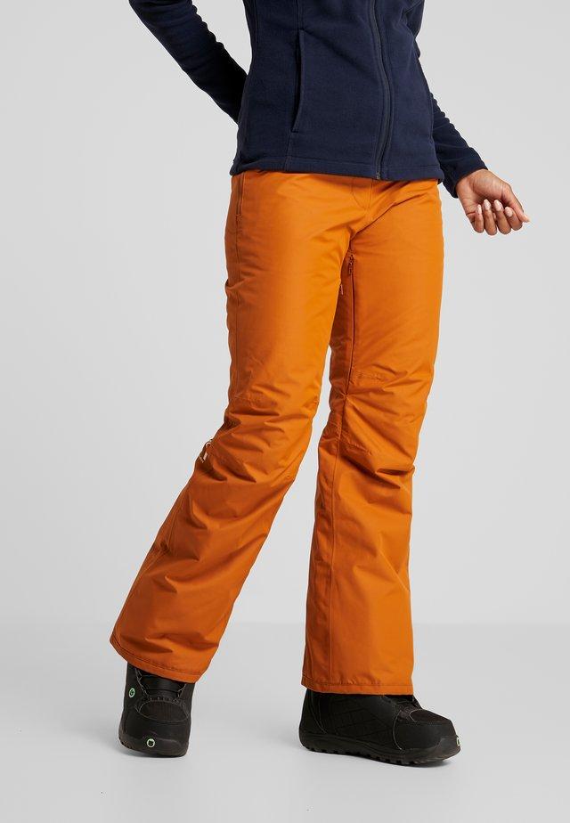 FINE PANT - Pantalón de nieve - adobe