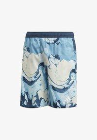 adidas Performance - WAVEBEAT - Swimming shorts - blue - 0