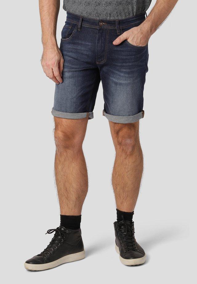 INDIE - Denim shorts - dk. blue moon