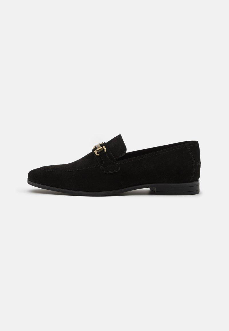 Burton Menswear London - WYATT - Scarpe senza lacci - black
