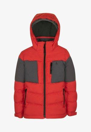LUNAR - Winter jacket - red charcoal