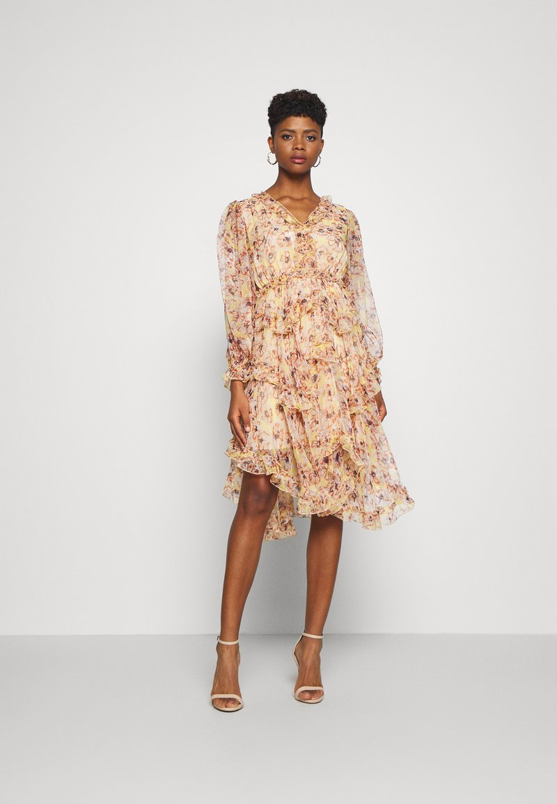 YAS - YASLUSAKA DRESS - Cocktailjurk - light pink