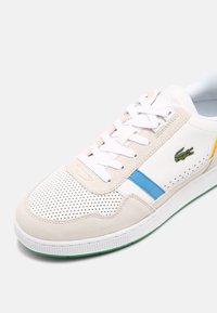 Lacoste - T-CLIP - Trainers - white/green - 6