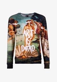 Mr. GUGU & Miss GO - ART IS DEAD - Sweatshirt - beige, light blue - 4
