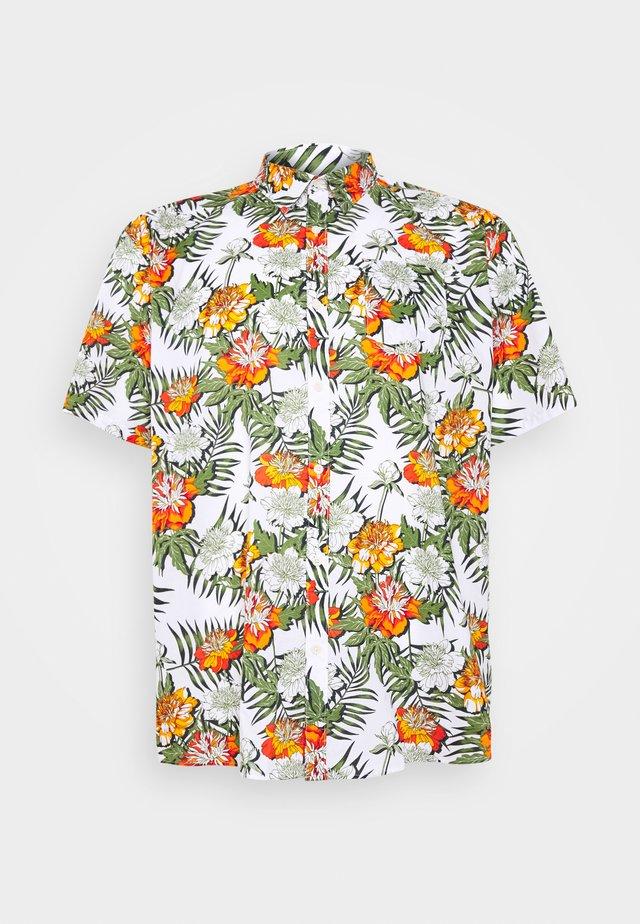 PRINT TEE - T-shirt z nadrukiem - white