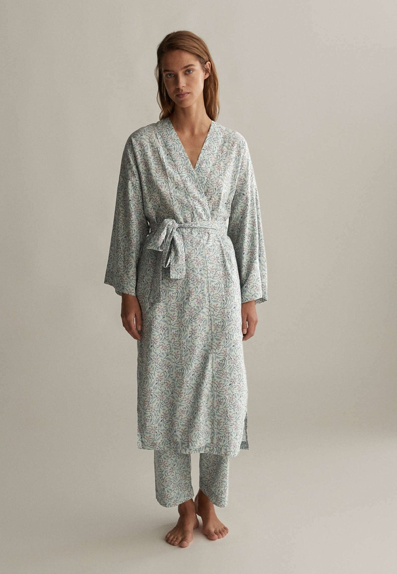 OYSHO - Dressing gown - green