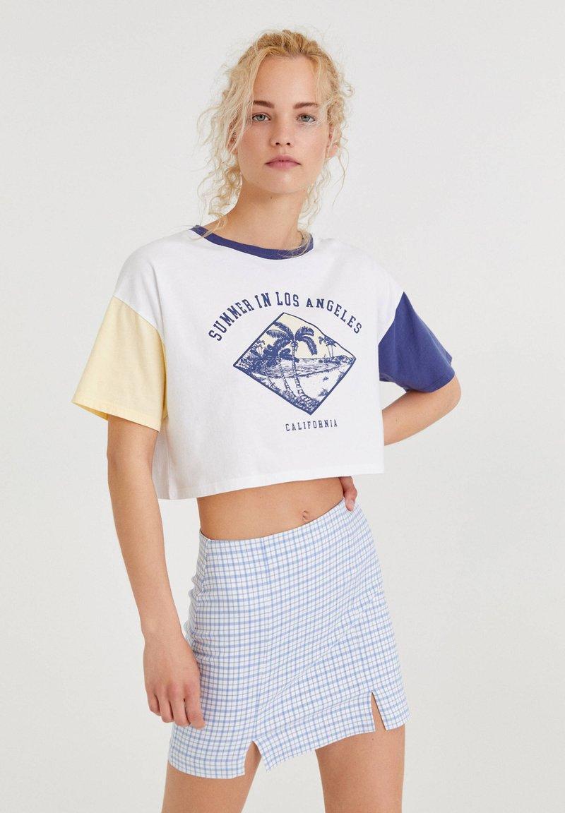 PULL&BEAR - T-shirts print - white