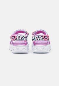 Skechers - HEART LIGHTS - Sandals - white/multicolor - 2