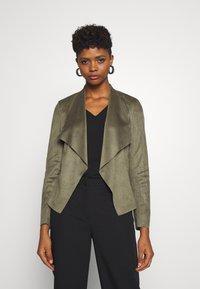 ONLY - ONLFLEUR JACKET - Faux leather jacket - kalamata - 0