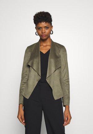 ONLFLEUR JACKET - Faux leather jacket - kalamata