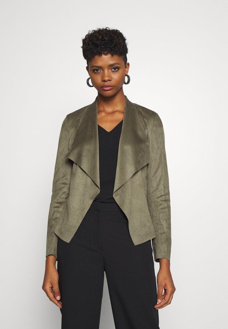 ONLY - ONLFLEUR JACKET - Faux leather jacket - kalamata