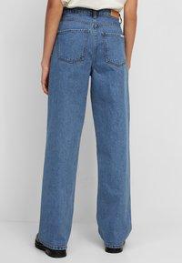 Marc O'Polo DENIM - TOMMA - Straight leg jeans - multi/dark blue salt 'n pepper - 2