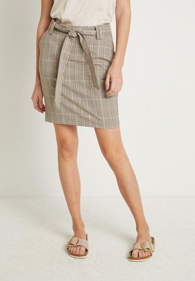 IHKACY - Pouzdrová sukně - natural