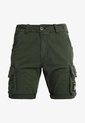 CREW PATCH  - Short - dark oliv