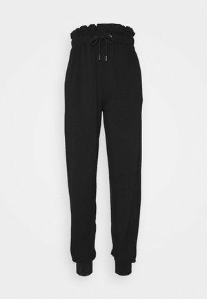 ONLPETRA PAPERBAG PANT - Kalhoty - black