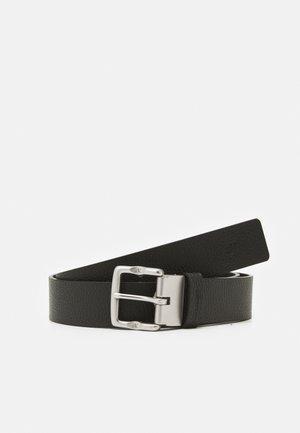 CLASSIC - Belt - black smooth/black pebble