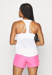 Nike Performance - MILER TANK RACER - Sportshirt - white - 2